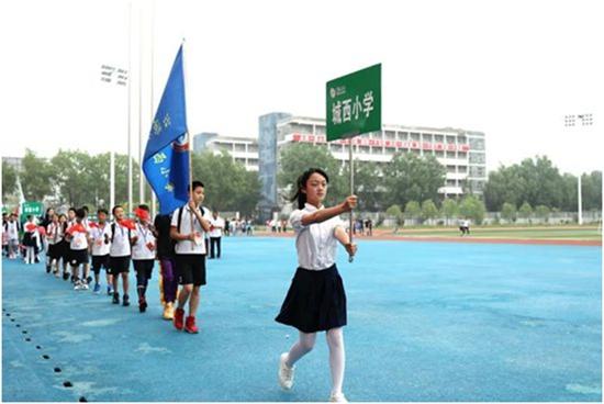 2021姚基金希望小学篮球季山西 • 沁源赛区联赛举行